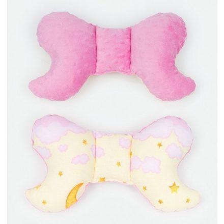 Égbolt minky pillangó párna - rózsaszín