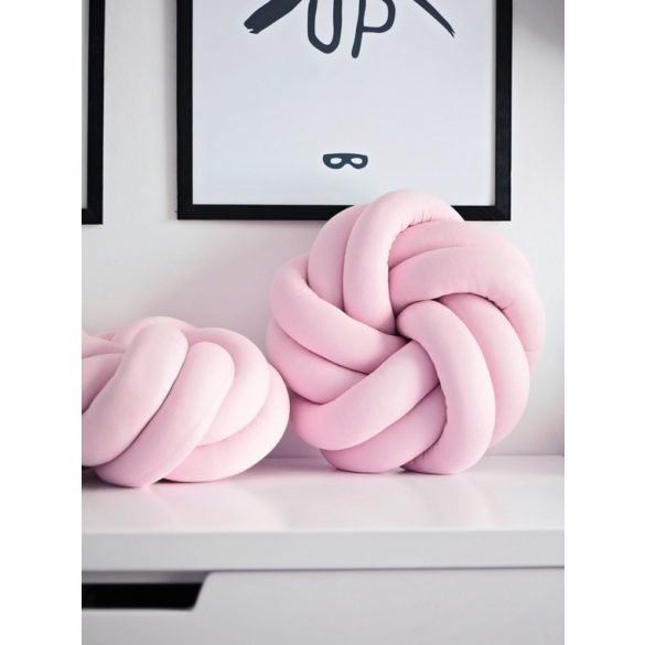 Luxury csomópárna - pink