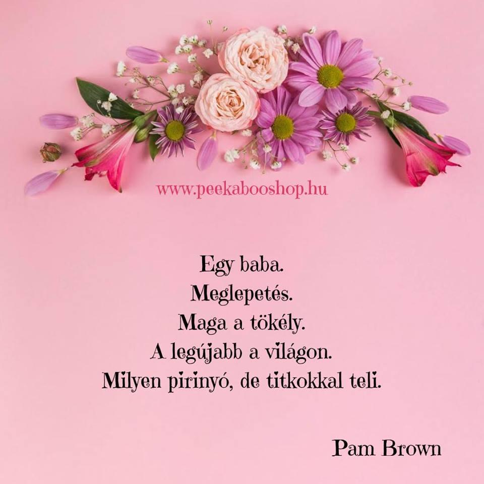 köszönet versek idézetek Babavárással kapcsolatos idézetek, versek gyűjteménye   Peekaboos