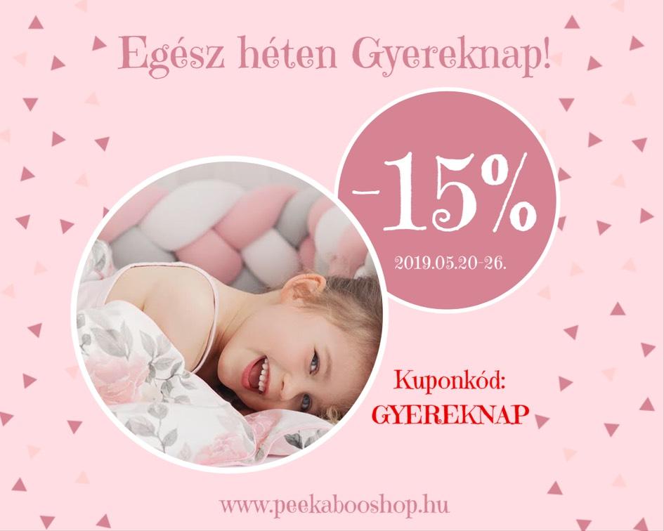 -15% EGÉSZ HÉTEN GYEREKNAP! -15%