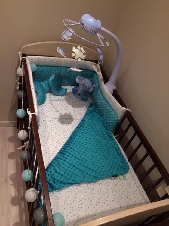 Mini csillagok ágynemű szett, minky takaró