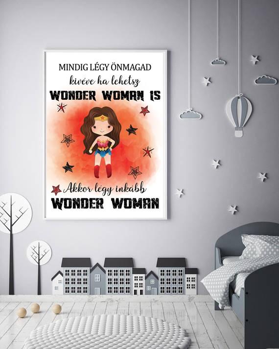 Wonder woman falikép
