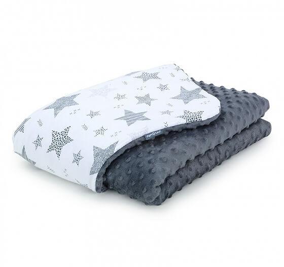 Starmix minky takaró - sötétszürke