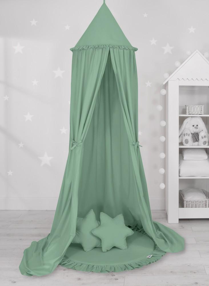 Sweet baby baldachin szett elegant - pasztell zöld